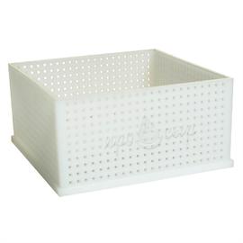 Форма для самопрессующихся сыров «Куб» низкая