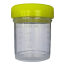 Баночка для хранения с крышкой и шкалой (пластик, 50 мл)