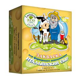 Термофильная закваска для сыра «Итальянский сыр» Lactoferm ECO