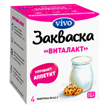 Бактериальная закваска VIVO Виталакт