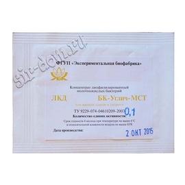 Мезофильная закваска для сыра БК-Углич-МСТ