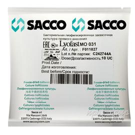 Мезофильная закваска Sacco MO 030/031/032 (10U)