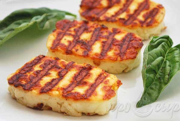 рецепт сыра халлуми для жарки