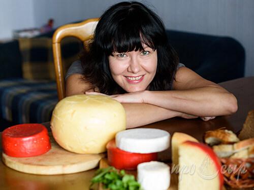 Ирина Вырупаева - технолог сырного производства