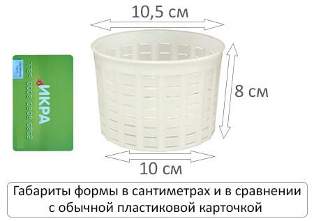 форма для сыра скуаквероне