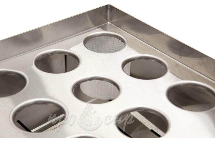 стол формовочный для сыроварни на 36 форм